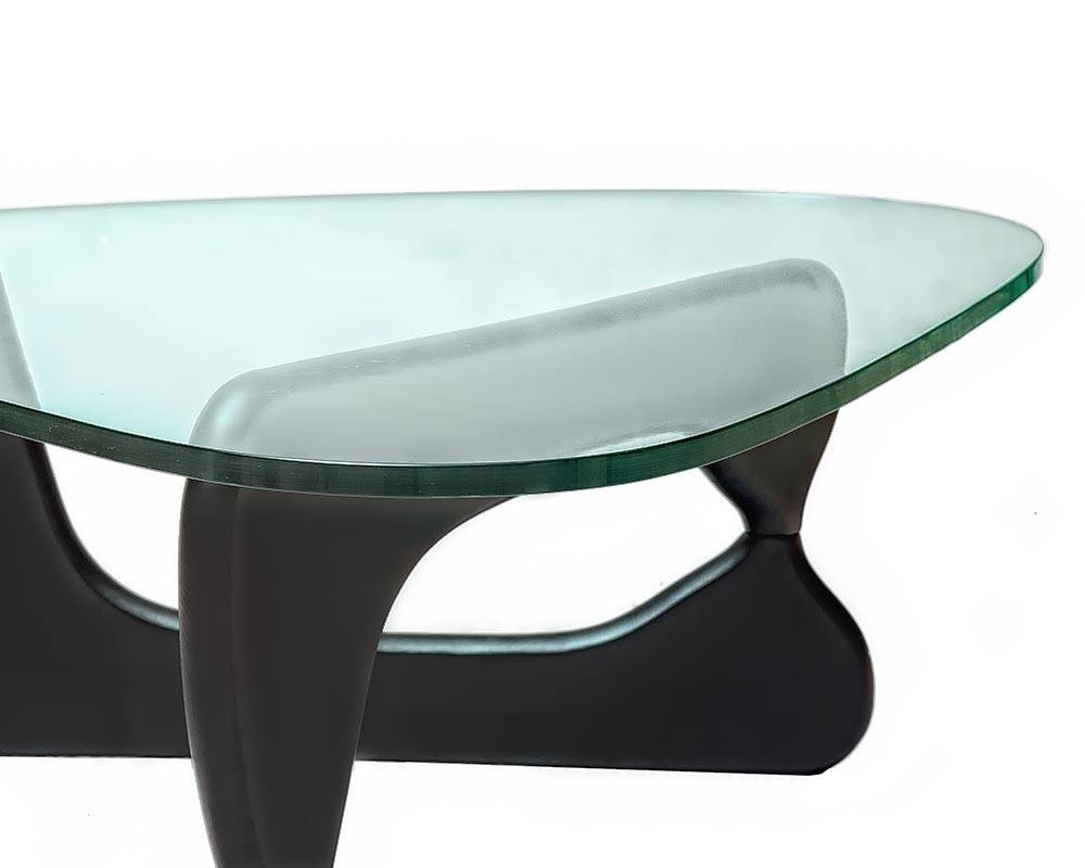 Coffee Table Designedisamu Noguchi | Steelform Design Classics with regard to Thick Glass Coffee Table (Image 4 of 15)