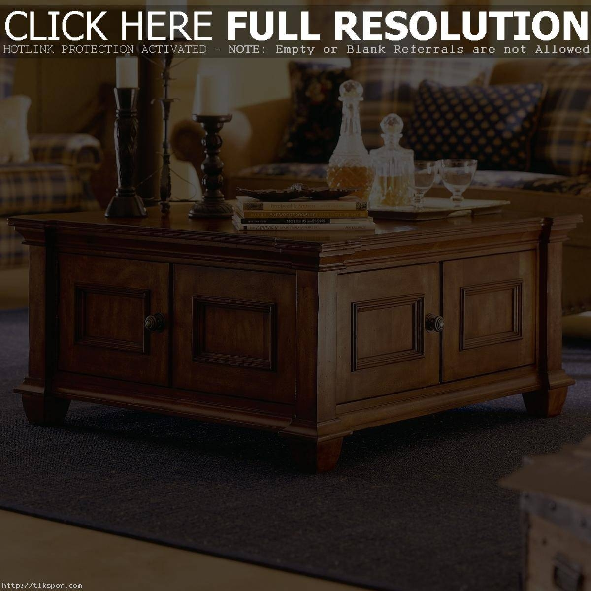Coffee Table Excellent Square Coffee Tables With Storage Pictures within Large Square Coffee Table With Storage (Image 2 of 15)