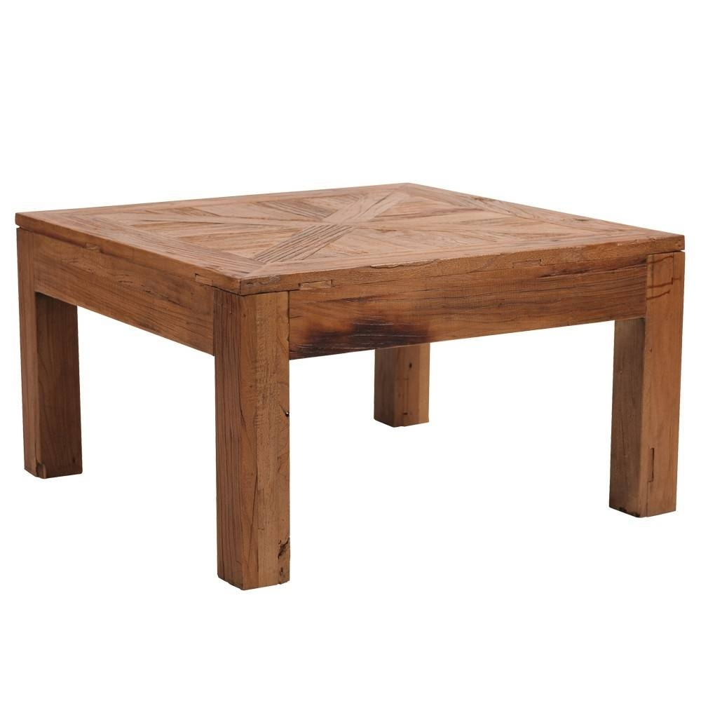 Coffee Table. Square Wooden Coffee Table - Home Interior Design for Square Wooden Coffee Table (Image 5 of 15)