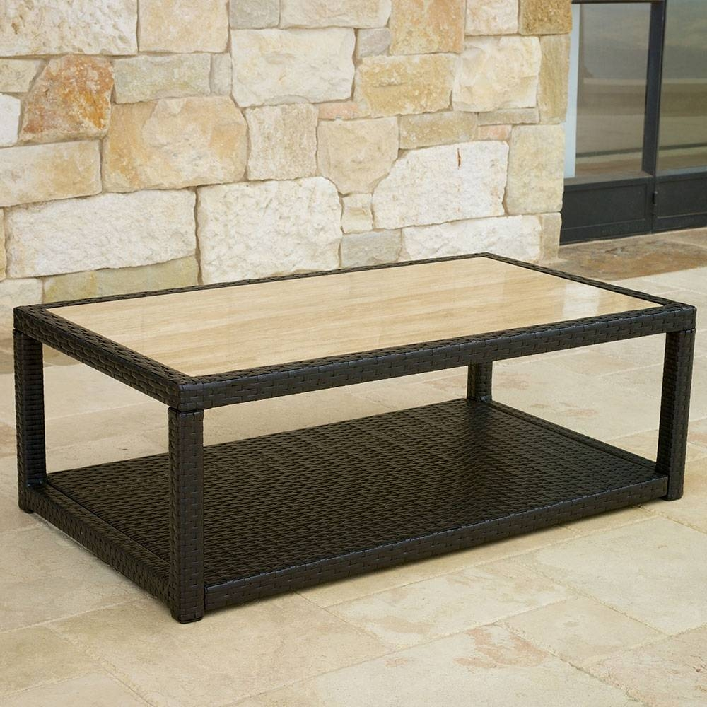 Coffee Tables Decor : Stone Top Coffee Table Bottle Clear Glass intended for Glass And Stone Coffee Table (Image 5 of 15)