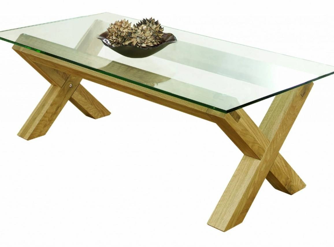 Coffee Tables : Glass Oak Coffee Table Pretty Oak And Glass Coffee throughout Glass Oak Coffee Tables (Image 4 of 15)
