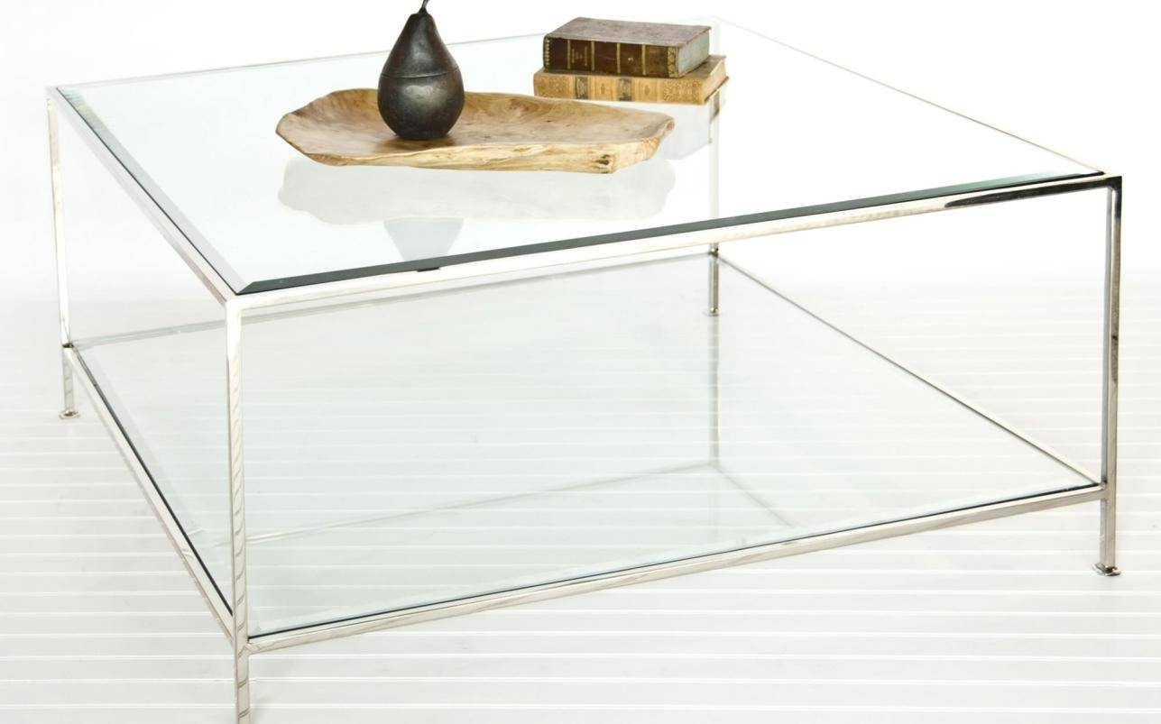 Coffee Tables : Glass Square Coffee Table Acceptable Square Glass within Square Glass Coffee Table (Image 3 of 15)