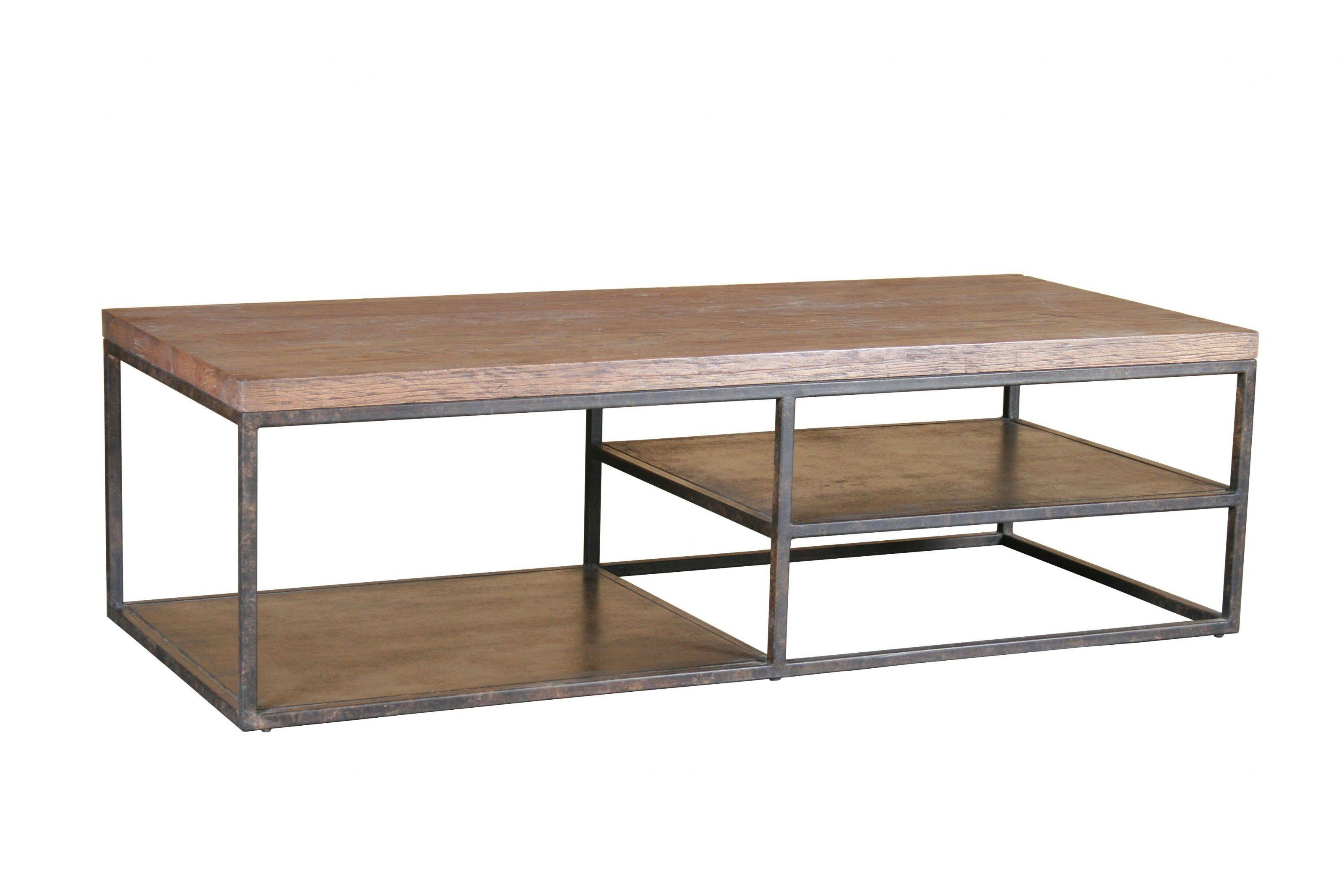 Coffee Tables Ideas: Awesome Iron And Wood Coffee Table Iron within Steel and Wood Coffee Tables (Image 5 of 15)