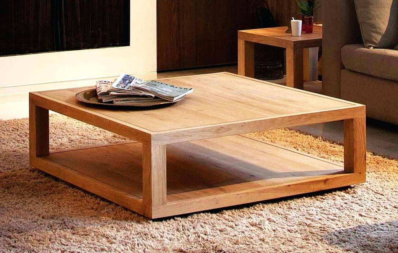 15 collection of square coffee table oak coffee tables square oak coffee table surprising chunky square pertaining to square coffee table oak geotapseo Image collections