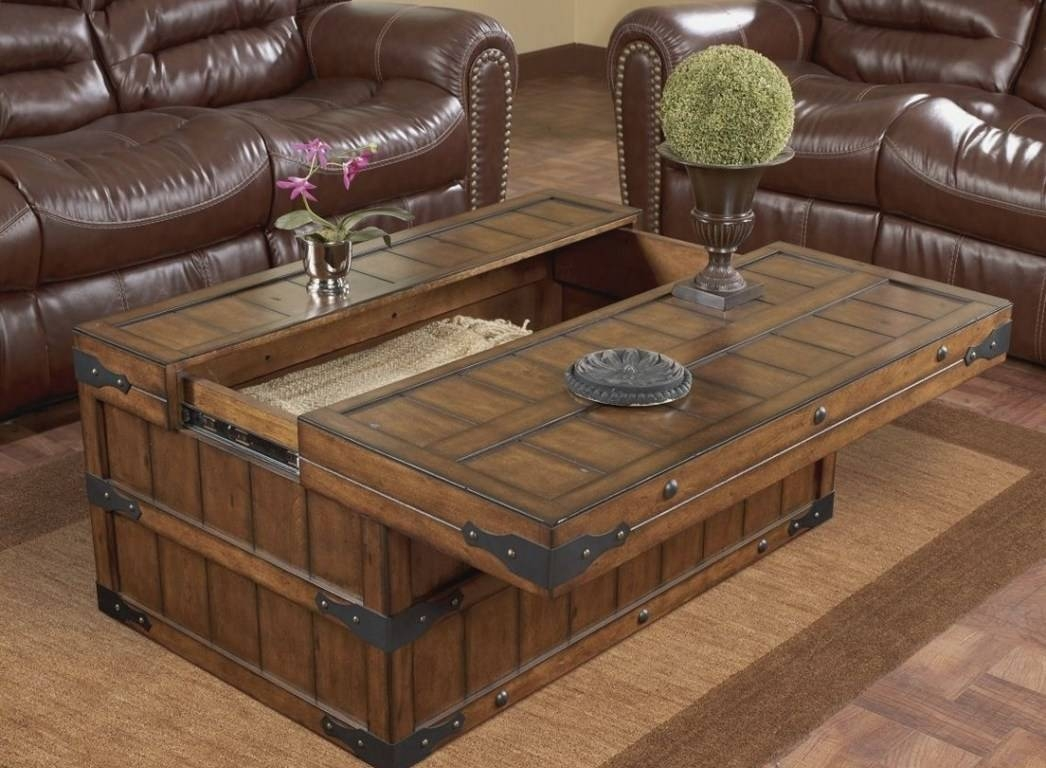 Coffee Tables : Square Oak Coffee Table Surprising Chunky Square With Large Square Oak Coffee Tables (View 14 of 15)