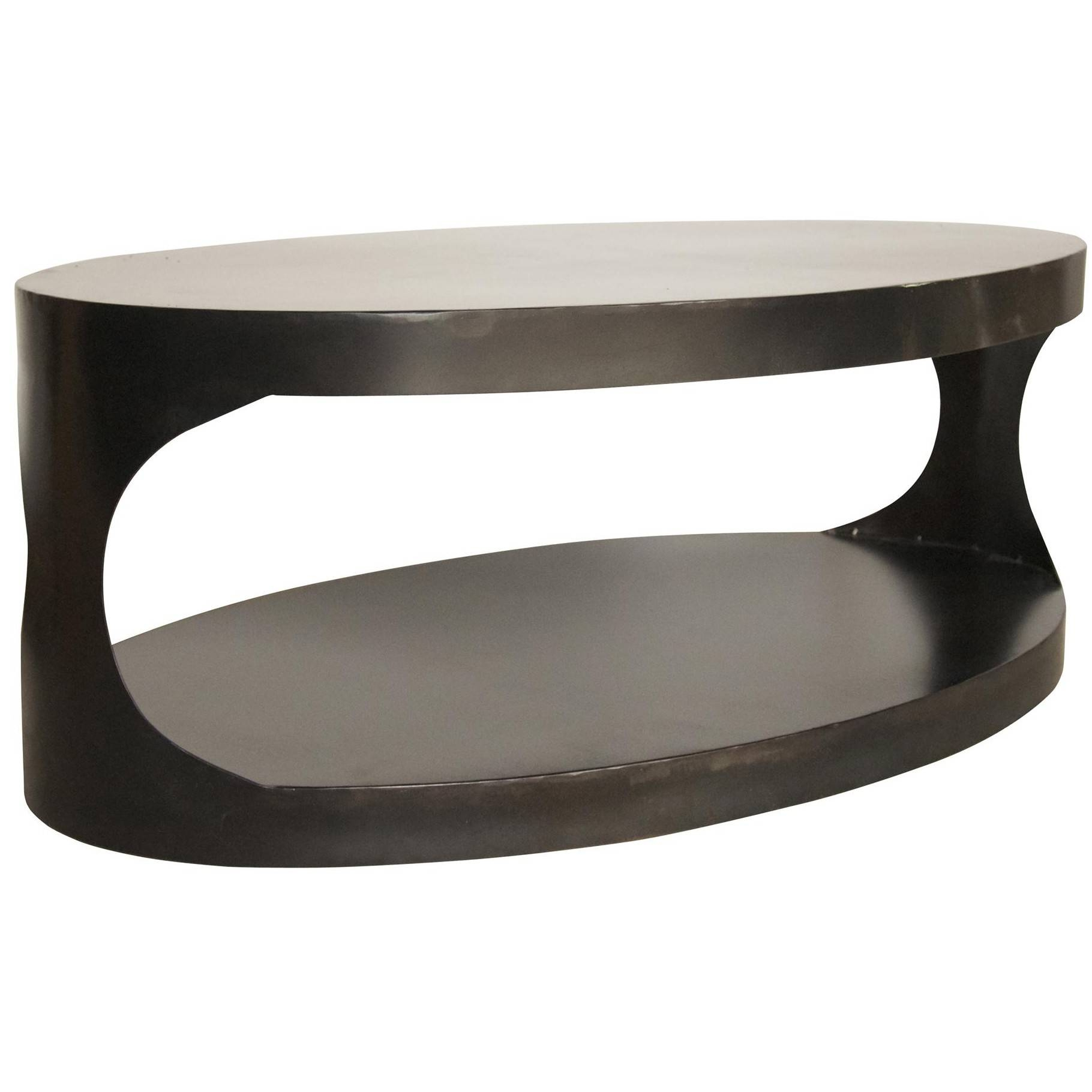 15 Ideas of Metal Oval Coffee Tables