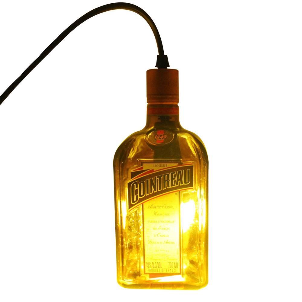 Cointreau Hanging Liquor Bottle Pendant Lamp Light - Table Lamps throughout  Liquor Bottle Pendant Lights (