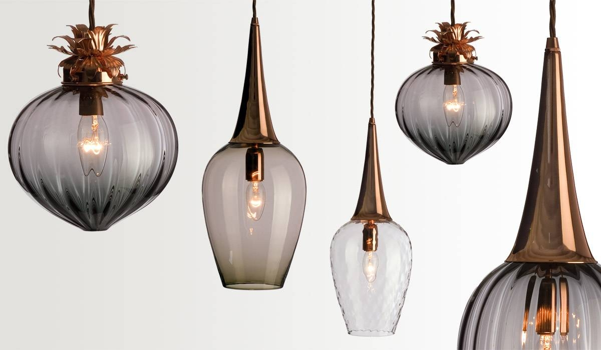 Collection In Blown Glass Pendant Lights Related To Interior within Hand Blown Glass Pendants (Image 8 of 15)