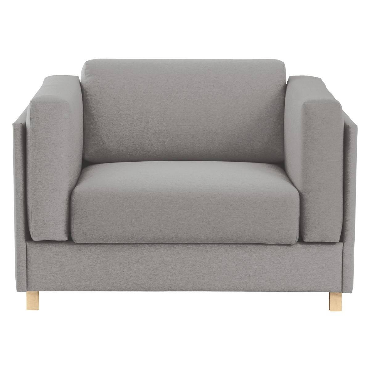 Colombo Grey Fabric Armchair Sofa Bed | Buy Now At Habitat Uk with Sofa Chairs for Bedroom (Image 7 of 15)