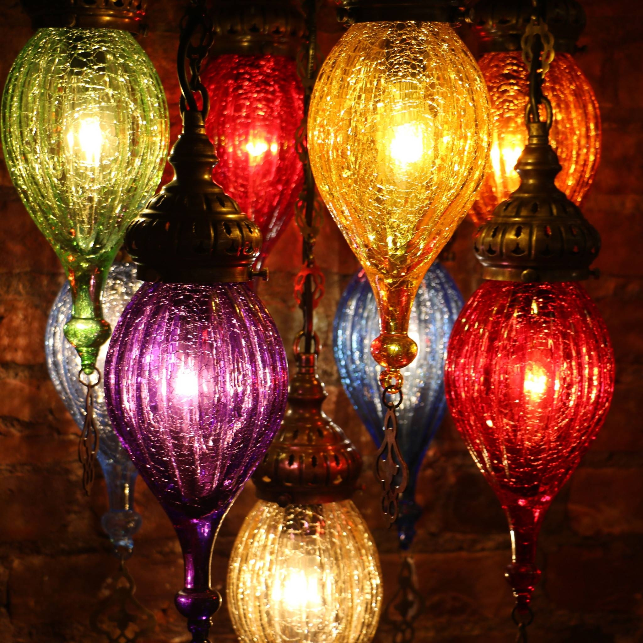 Colored Glass Lamps 95 Breathtaking Decor Plus Handmade Blown in Hand Blown Glass Lights Fixtures (Image 8 of 15)