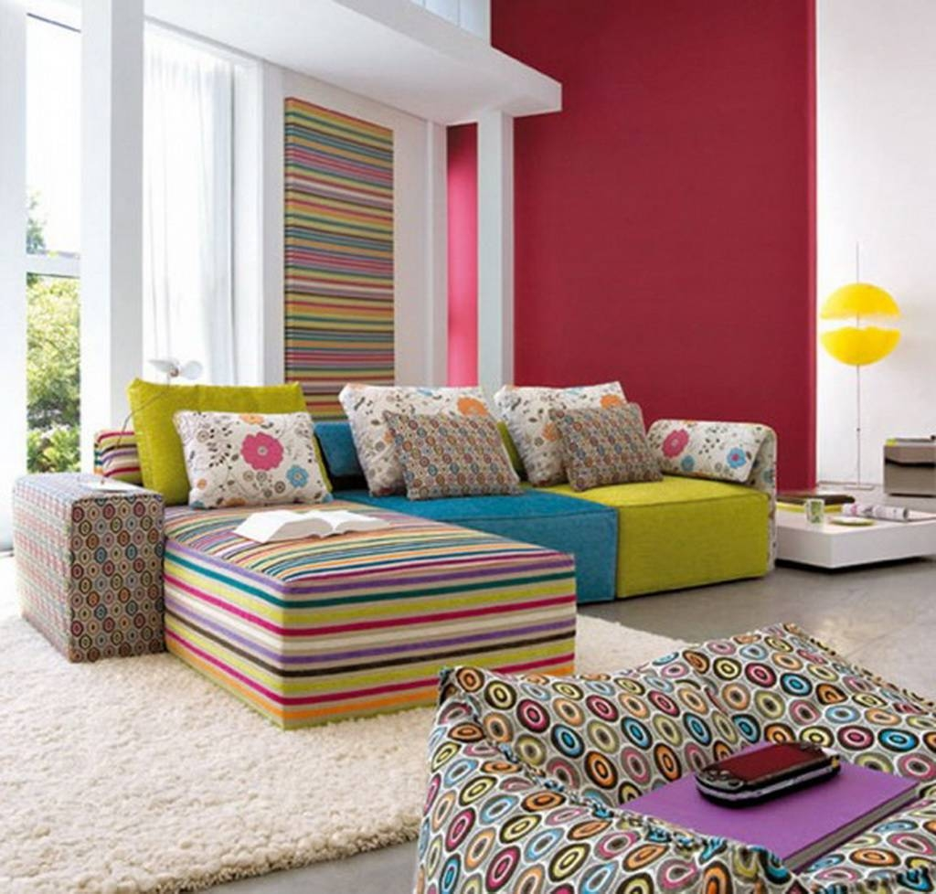 Popular Photo of Colorful Sofas And Chairs