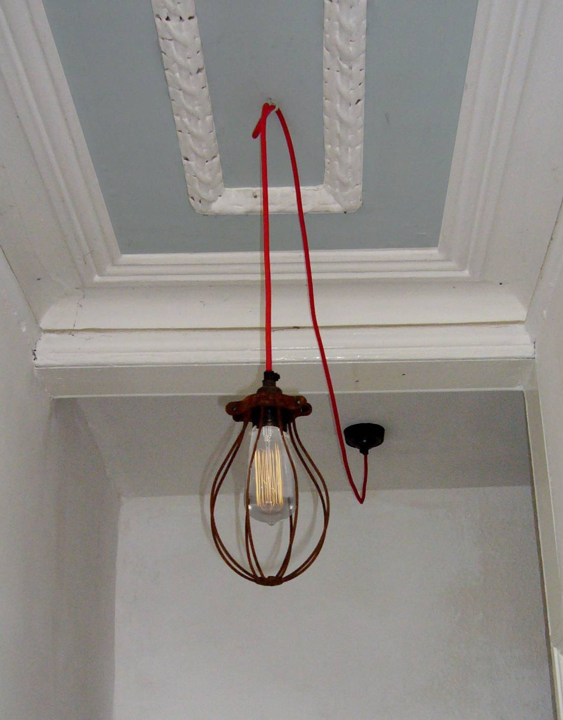 Coloured Flex Cord | Winston's Roost Inside Coloured Cord Pendant Lights (View 3 of 15)