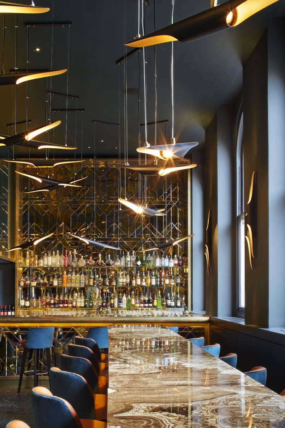 Coltrane Suspension Ceiling Lamp | Delightfull throughout Restaurant Pendant Lights (Image 3 of 15)