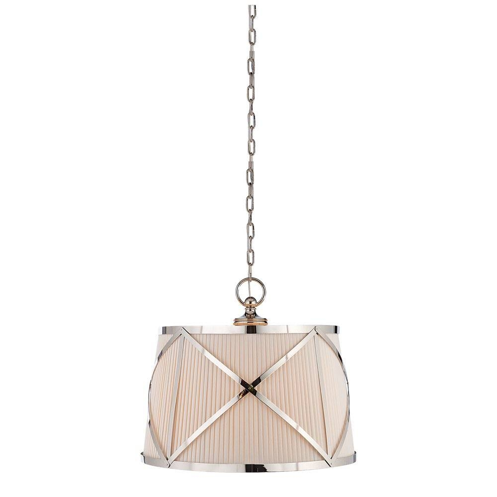 Comfort Chc1483Pn-L E. F. Chapman Grosvenor Large Single Hanging for Grosvenor Lights Pendants (Image 5 of 15)
