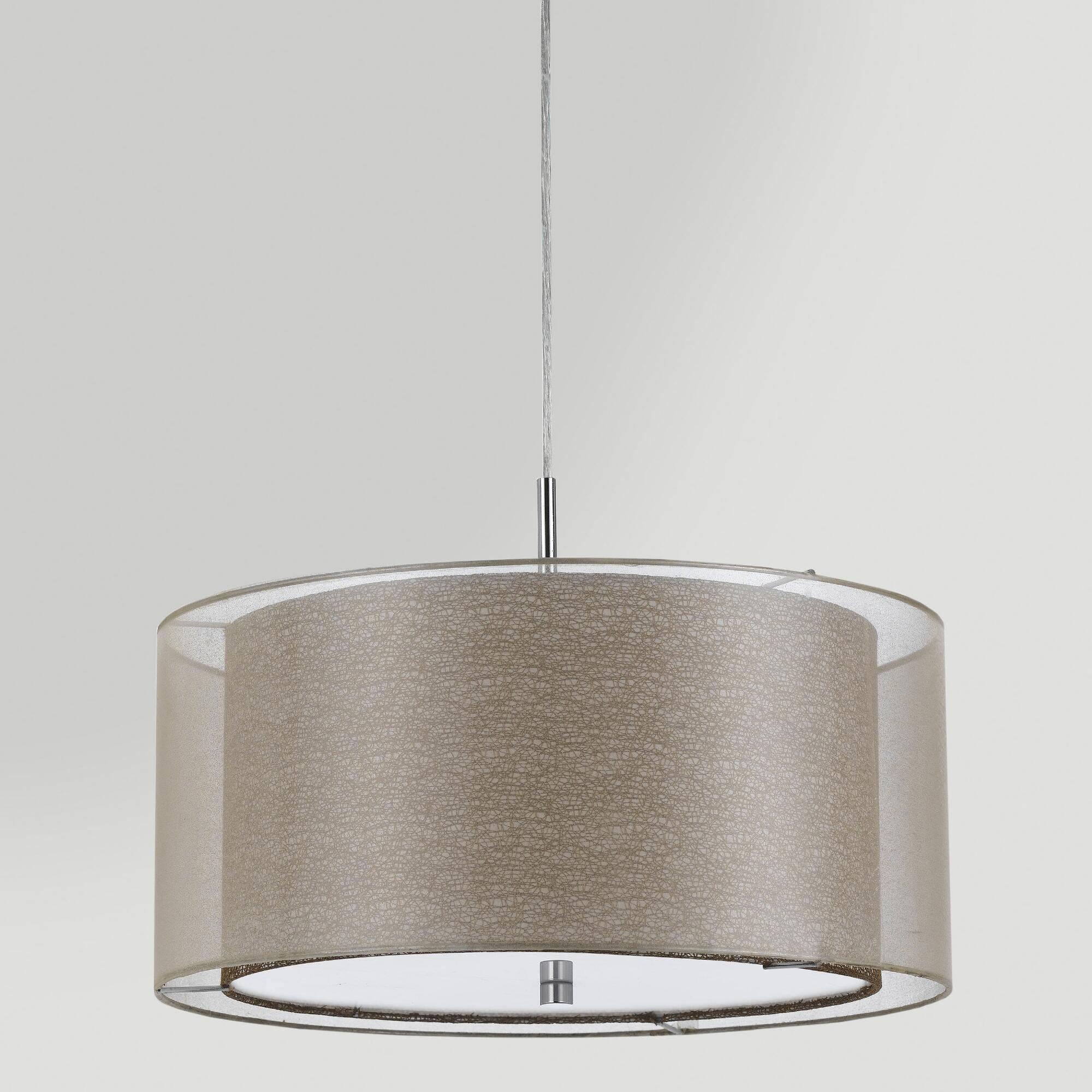Commercial Drum Pendant Lighting - Drum Pendant Lighting For in Commercial Pendant Lights (Image 2 of 15)