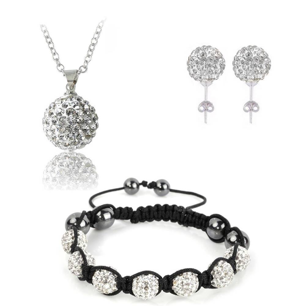 Compare Prices On Shamballa Pendants- Online Shopping/buy Low with regard to Disco Ball Pendants (Image 2 of 15)