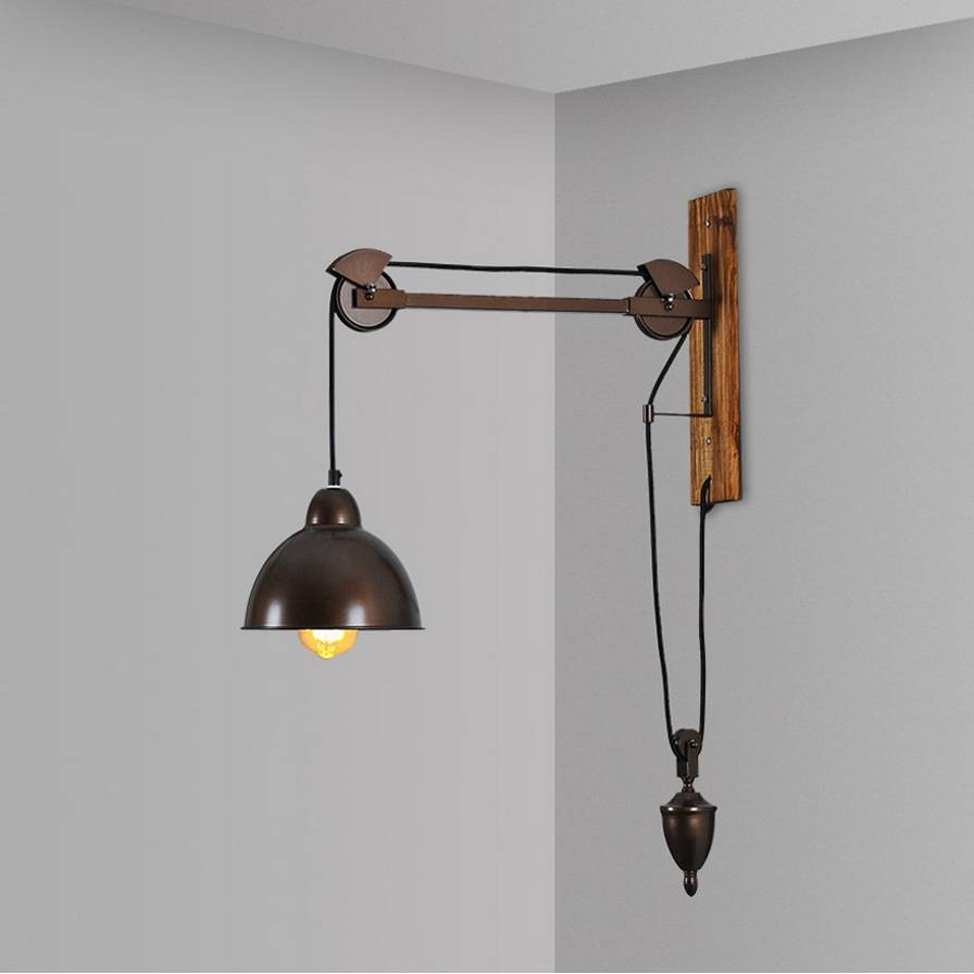 Compare Prices On Wall Mount Pulley Light Fixtures- Online within Pulley Lights Fixtures (Image 6 of 15)