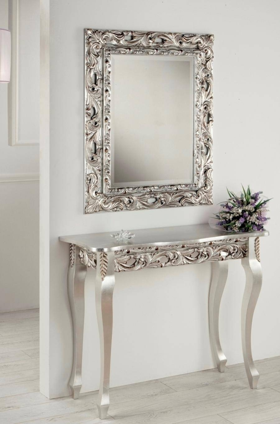 Console Table With Mirror – Harpsounds.co inside Mirrors Console Table (Image 4 of 15)