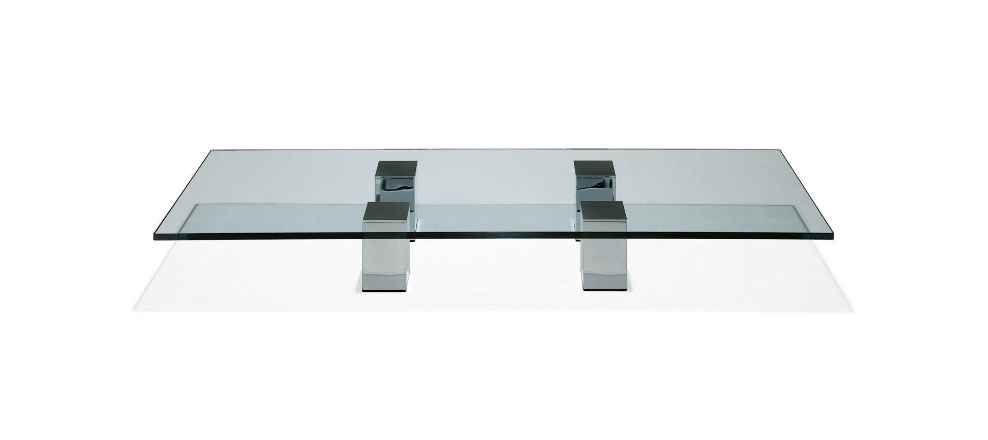 Contemporary Coffee Table / Glass / Natural Stone – 1210 Grande Throughout Stone And Glass Coffee Tables (View 9 of 15)