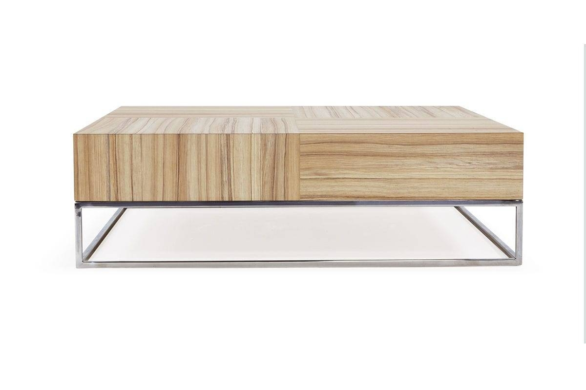 Contemporary Coffee Table / Oak - Chek - Hb Group in Contemporary Oak Coffee Table (Image 4 of 15)