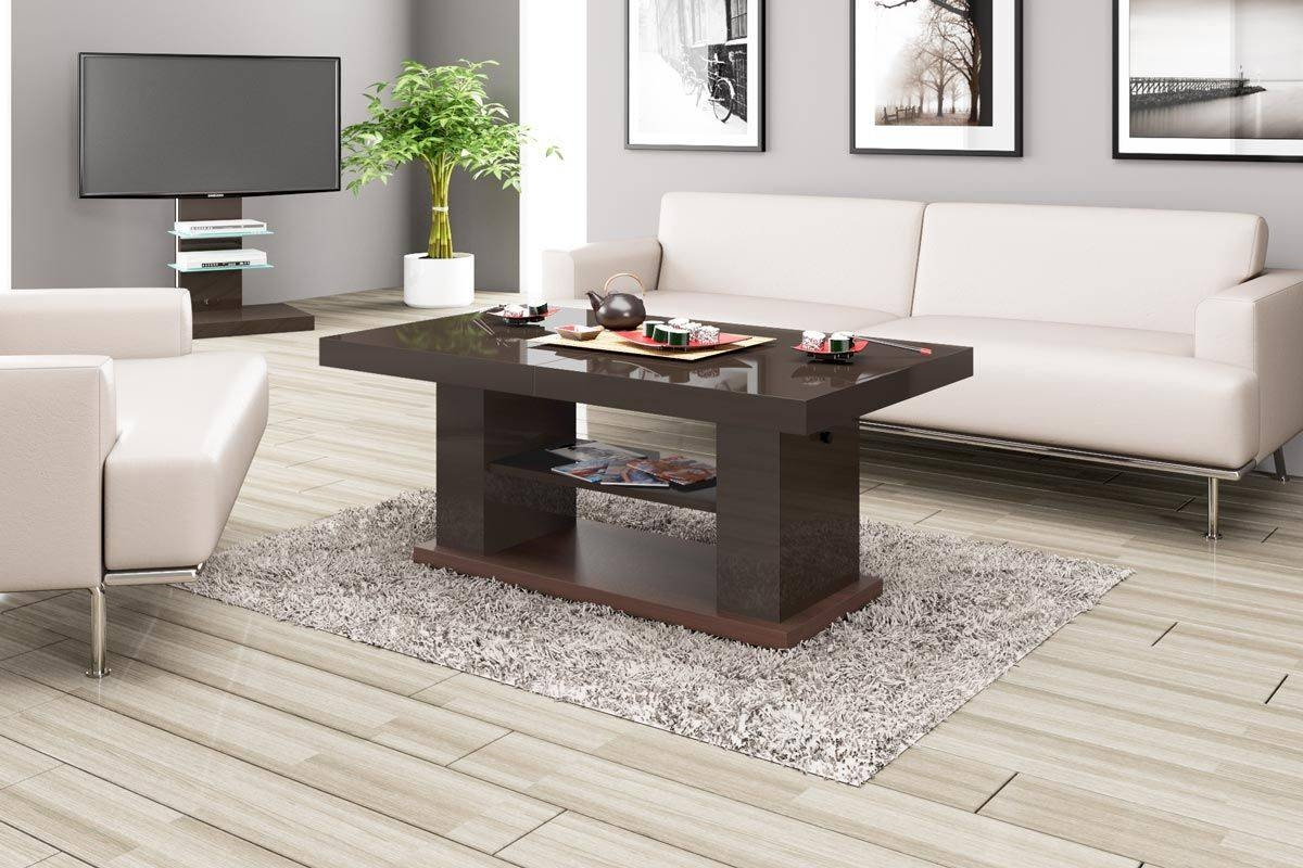 Contemporary Coffee Tables & Side Tables | Modern Furniture for High Coffee Tables (Image 10 of 15)