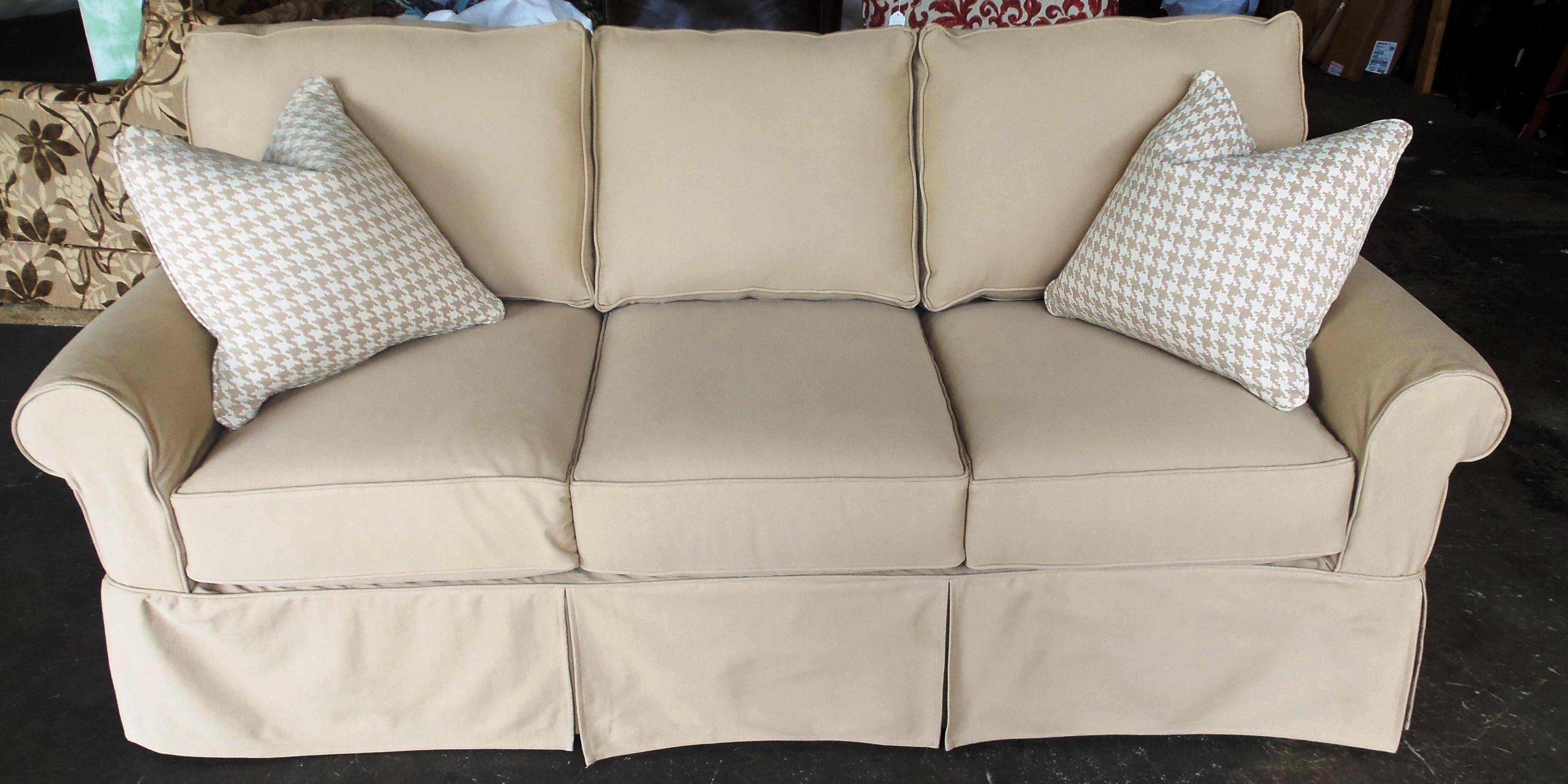 Featured Photo of Loveseat Slipcovers 3 Pieces