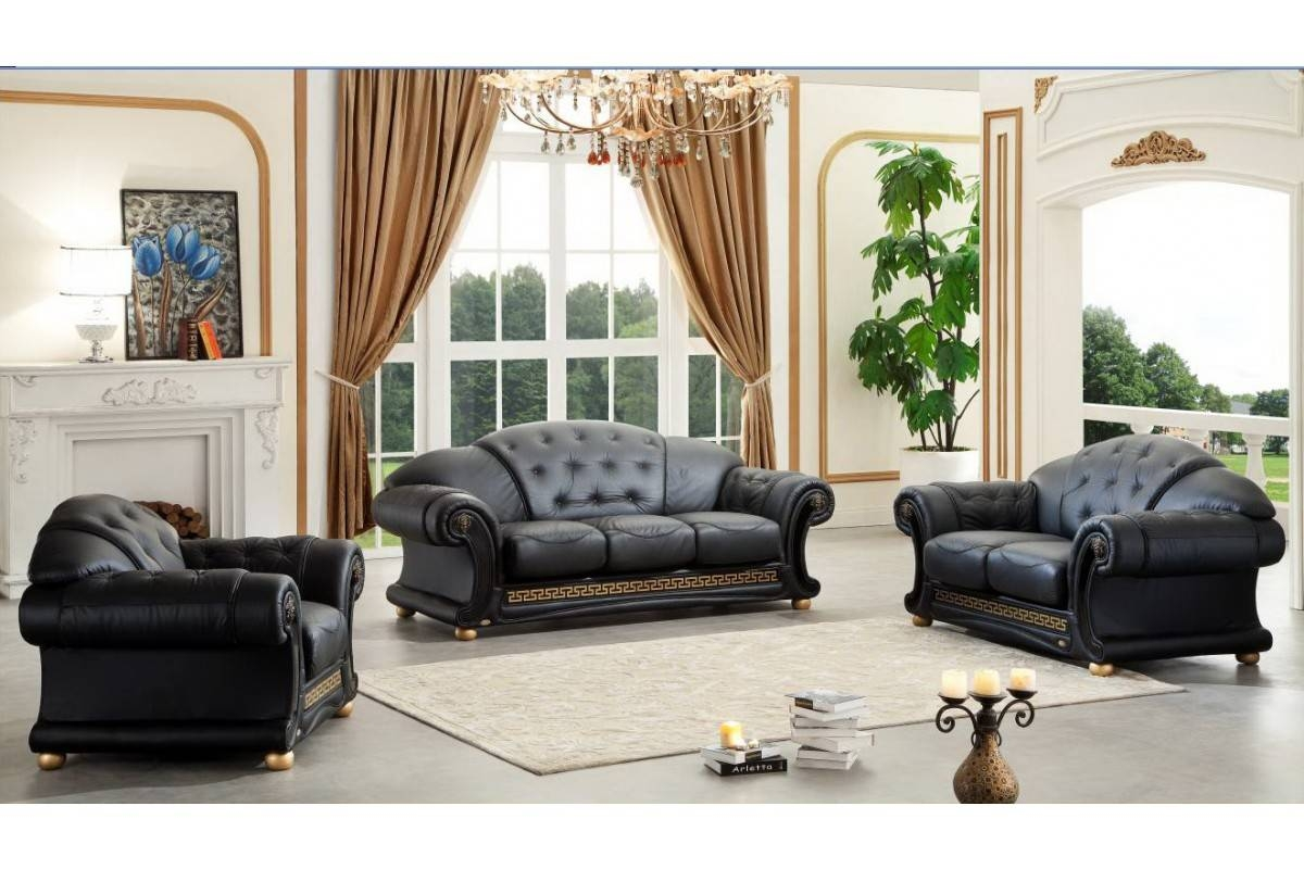 Contemporary & Luxury Furniture; Living Room, Bedroom,la Furniture pertaining to Cleopatra Sofas (Image 9 of 15)
