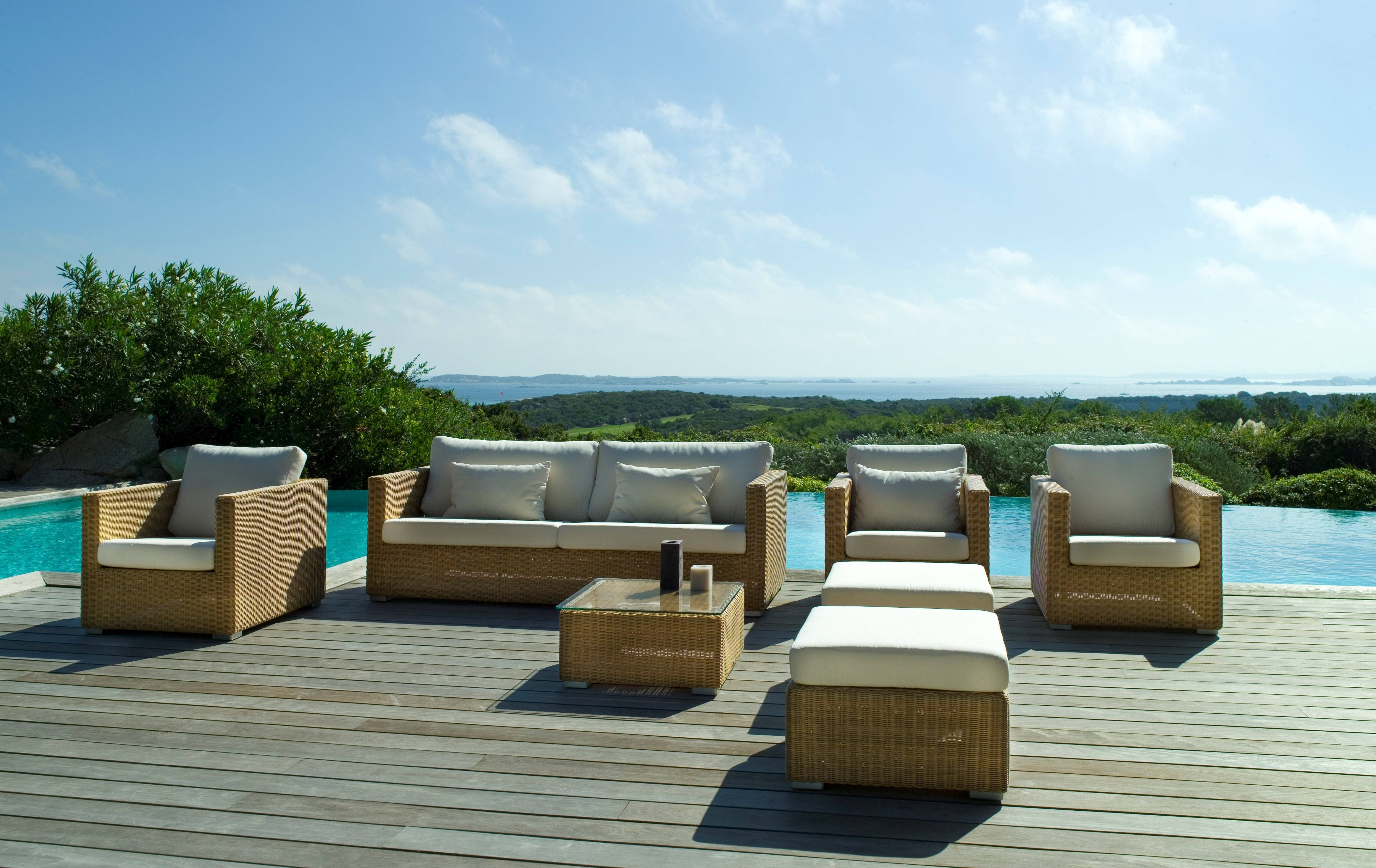 Contemporary Outdoor Furniture Sets, Furniture : Patio Chairs regarding Outdoor Sofas and Chairs (Image 2 of 15)