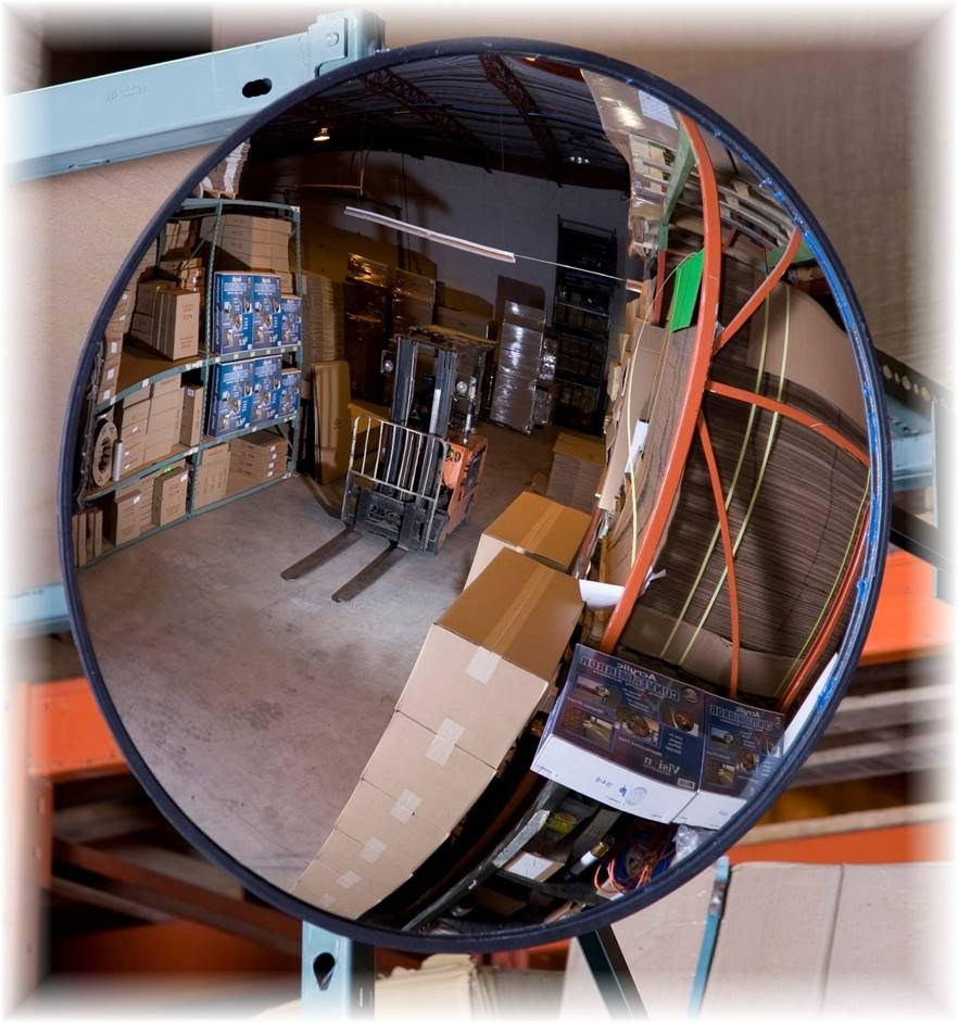 Convex Mirrors - Vision inside Curved Mirrors (Image 6 of 15)