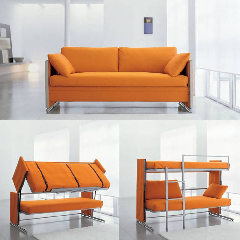 Coolest Space Saving Furniture Ideas pertaining to Collapsible Sofas (Image 8 of 15)
