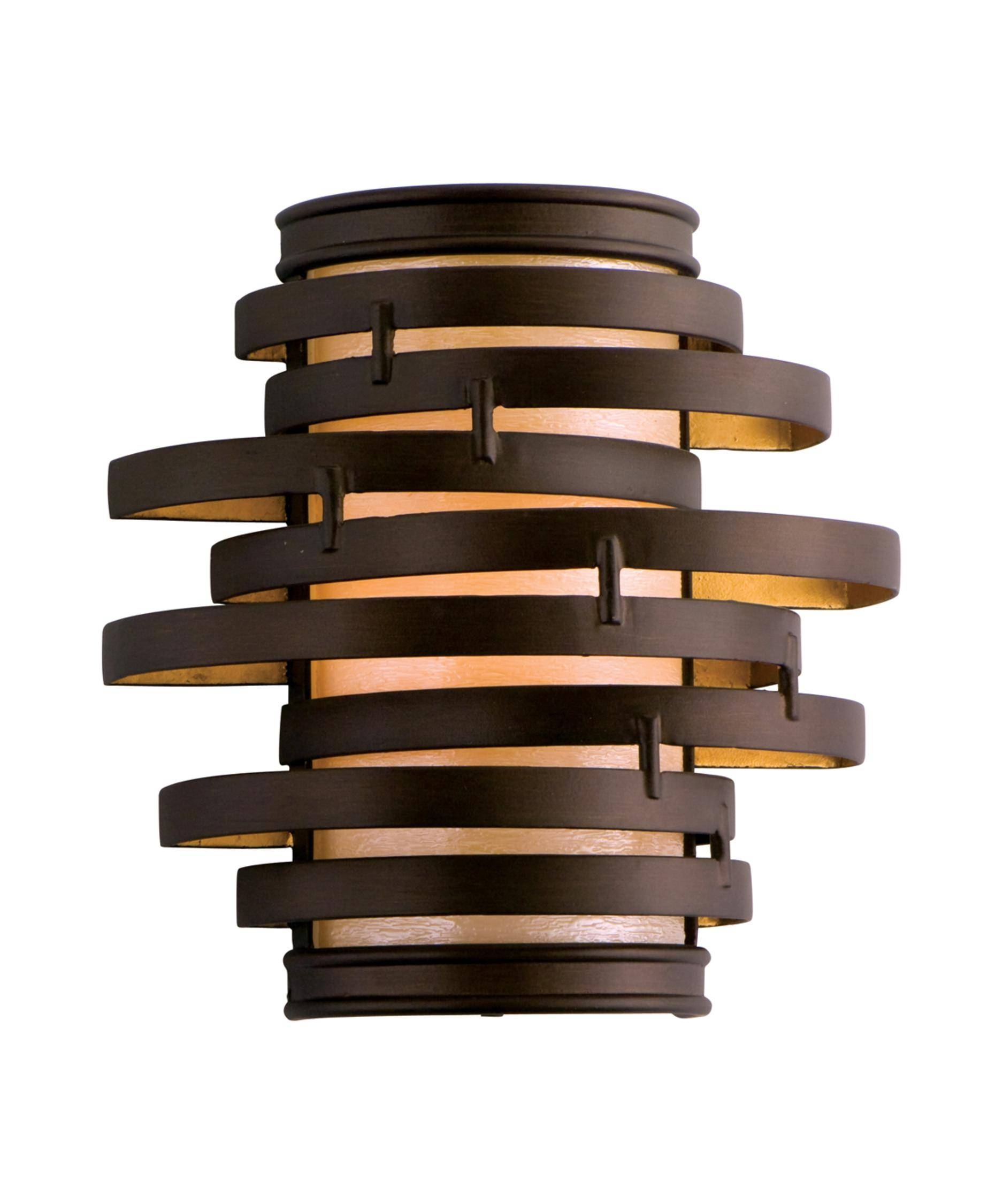 Corbett Lighting Ve-11 Vertigo 10 Inch Wide Wall Sconce | Capitol intended for Corbett Vertigo Small Pendant Lights (Image 10 of 15)