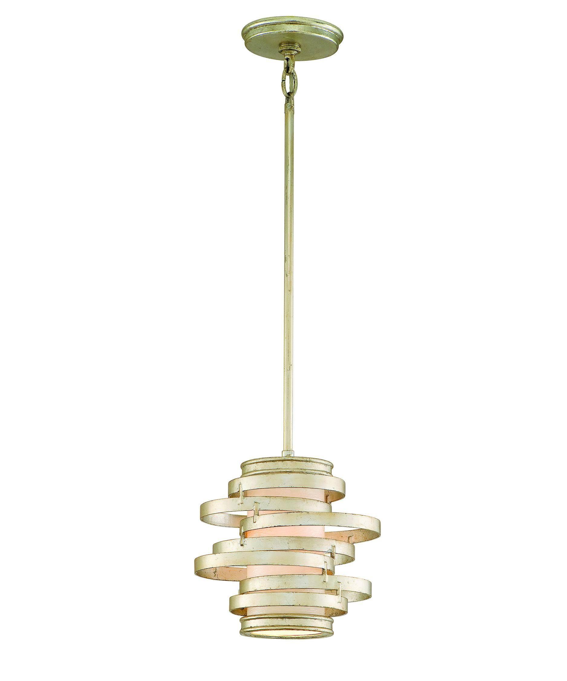 Corbett Lighting Ve-41 Vertigo 14 Inch Wide 1 Light Mini Pendant with regard to Corbett Vertigo Pendant Lights (Image 8 of 15)