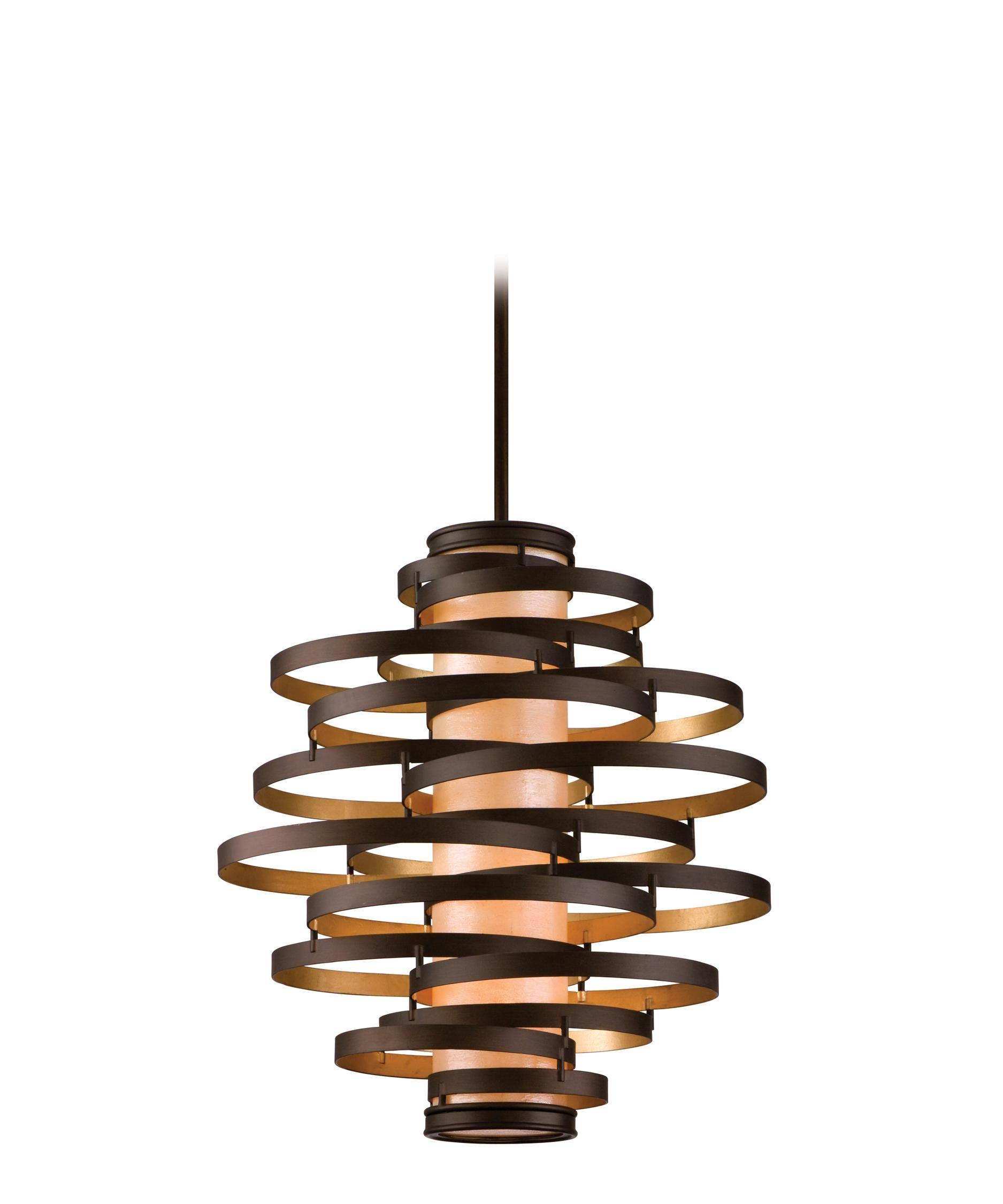 Corbett Lighting Ve-44 Vertigo 30 Inch Wide 4 Light Large Pendant for Corbett Vertigo Small Pendant Lights (Image 13 of 15)