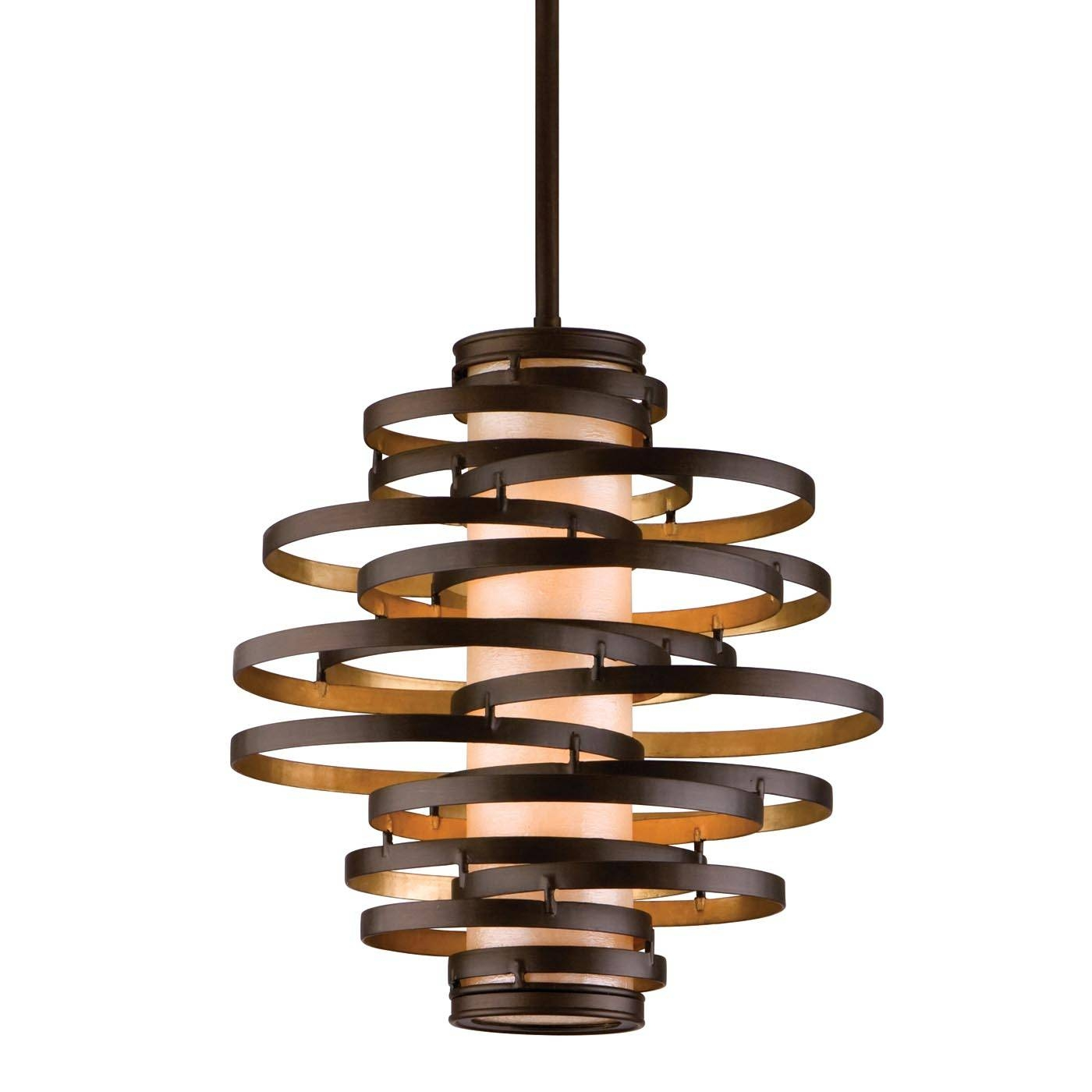 Corbett Lighting Vertigo Hanging Foyer Light | The Mine throughout Corbett Vertigo Small Pendant Lights (Image 14 of 15)