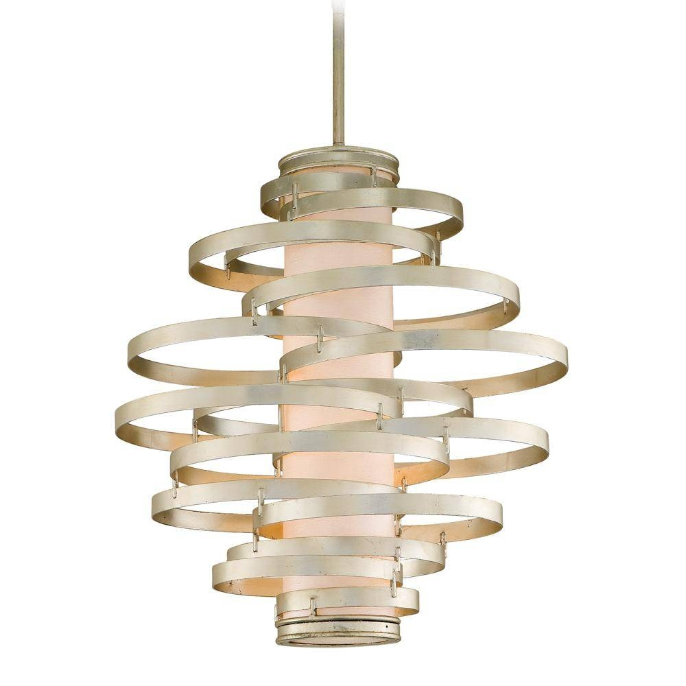 Corbett Lighting - Welivv throughout Corbett Vertigo Small Pendant Lights (Image 5 of 15)
