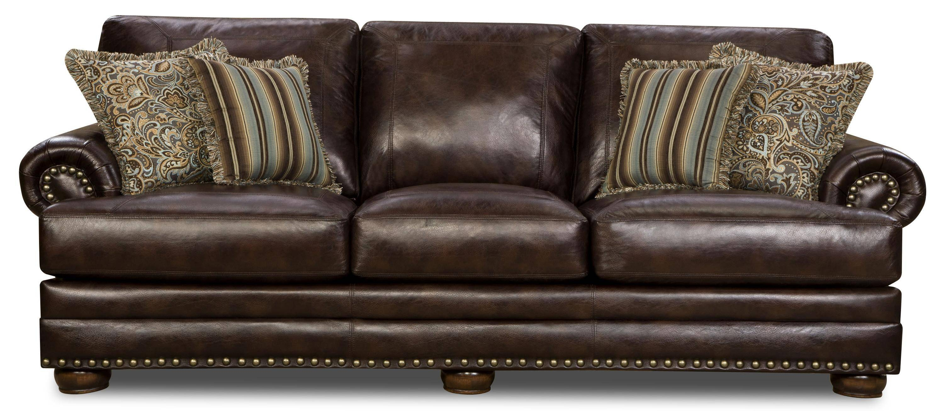 Corinthian Leather Sofa Corinthian Alexander Leather Reclining within Corinthian Sofas (Image 10 of 15)