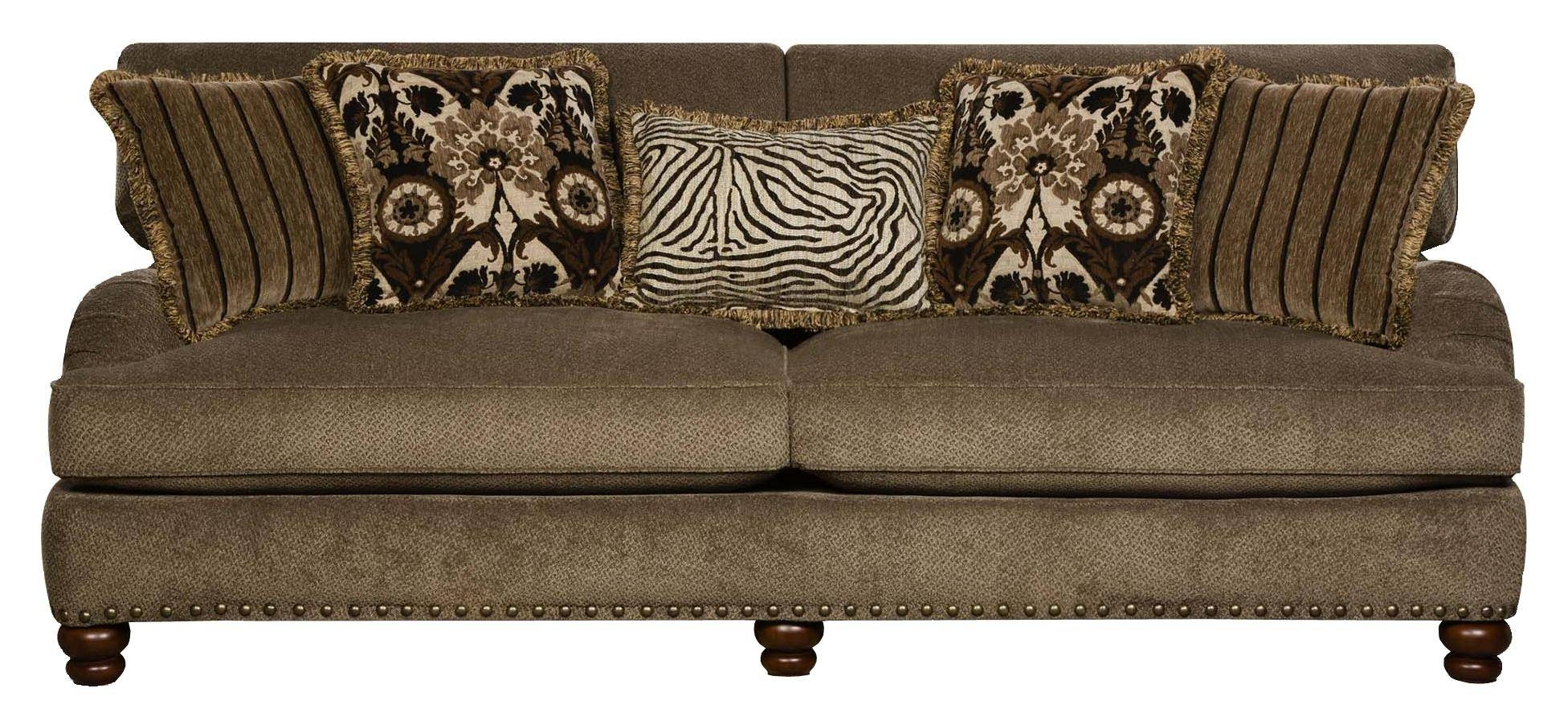 Corinthian Prodigy Prodigy Mink Sofa - Great American Home Store throughout Corinthian Sofas (Image 11 of 15)