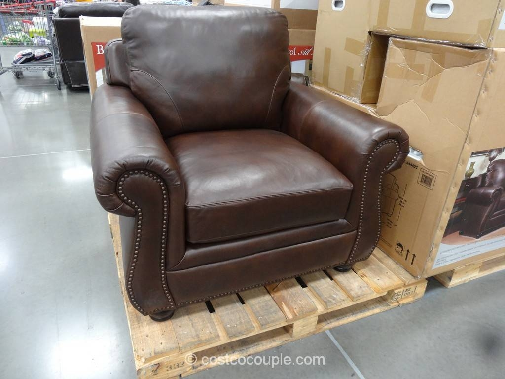 Costco Leather Sofa | Roselawnlutheran with Savoy Leather Sofas (Image 4 of 15)