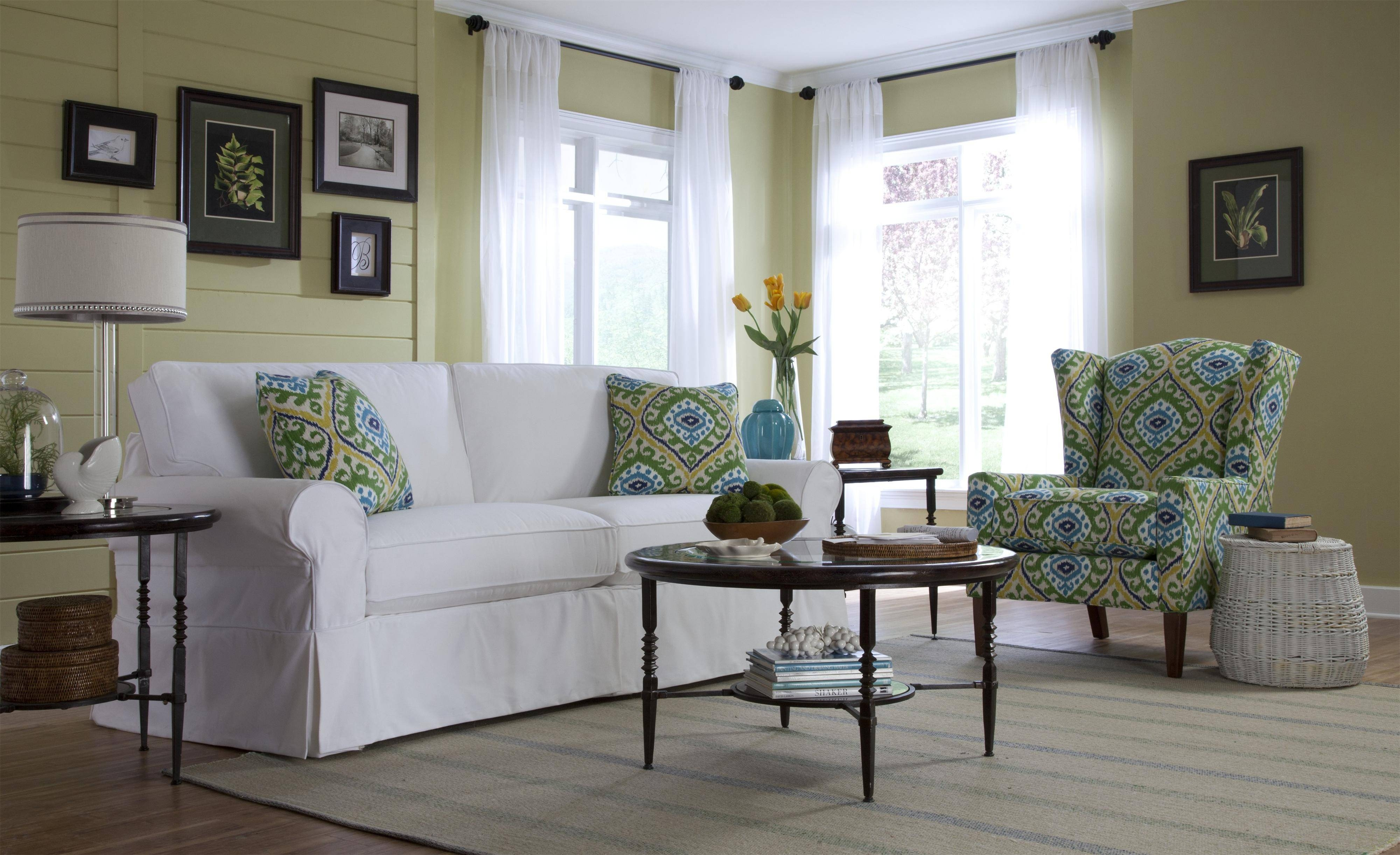 Cottage Style Sofa Slipcovers | Tehranmix Decoration throughout Slipcover Style Sofas (Image 4 of 15)