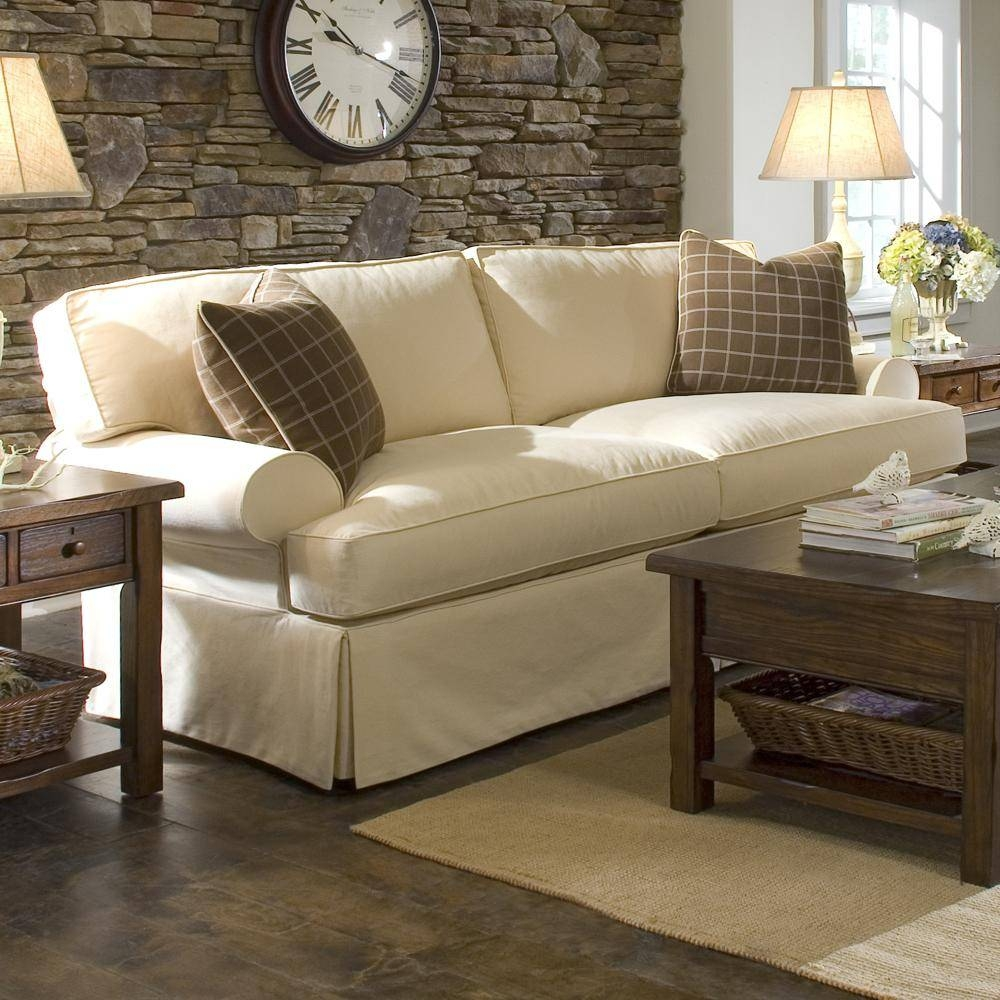 Cottage Style Sofa Slipcovers | Tehranmix Decoration with regard to Slipcover Style Sofas (Image 5 of 15)