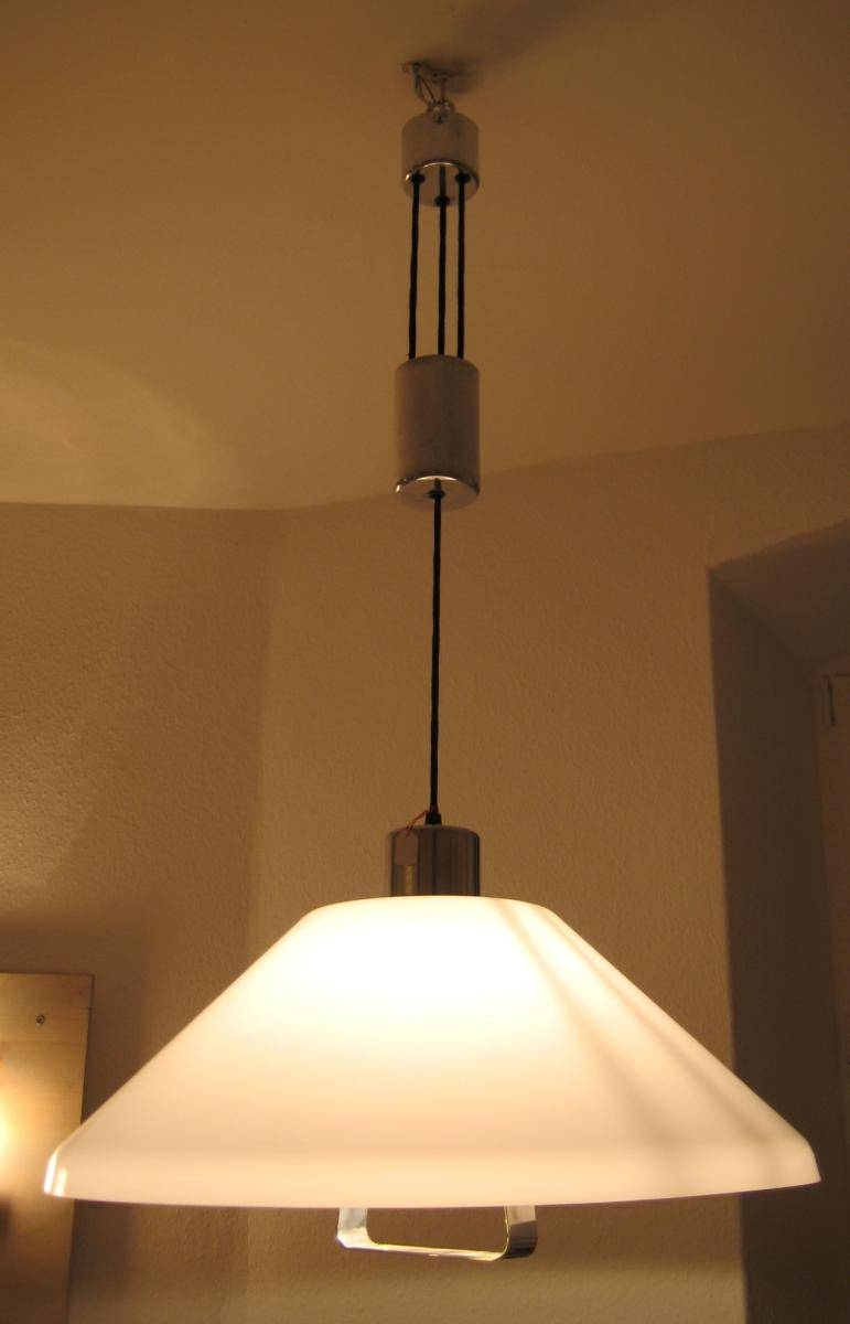 Counterweight Pendant Lamp, 1960S For Sale At Pamono Intended For Counterweight Pendant Lights (View 2 of 15)