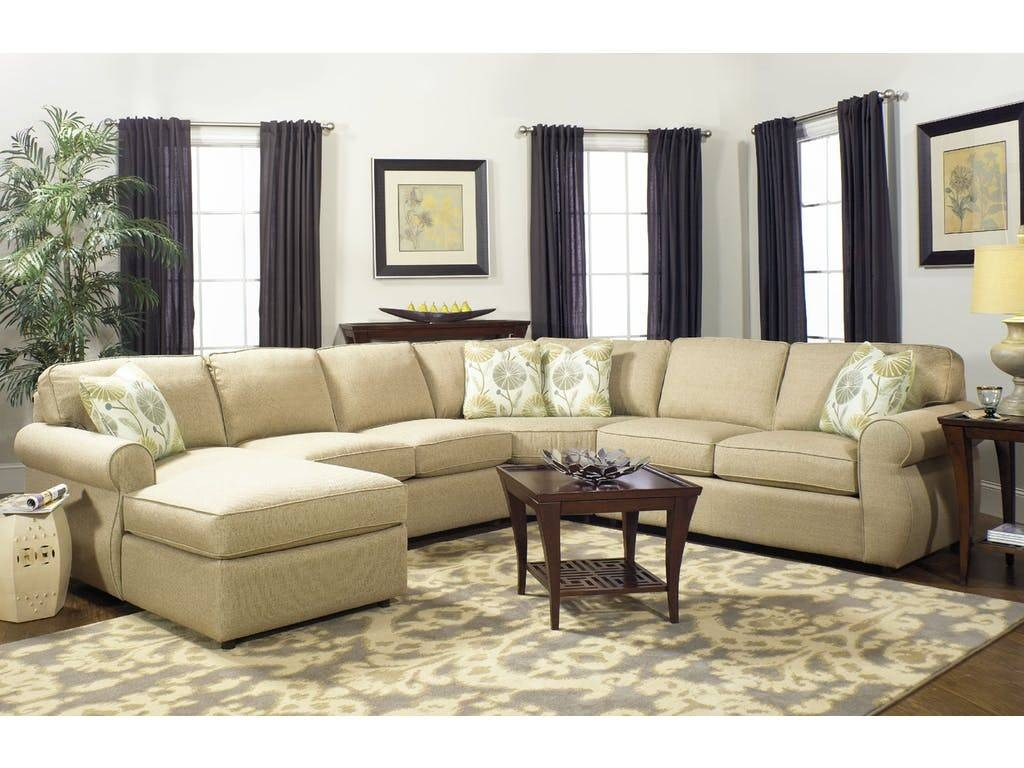 Craftmaster Sectional Sofa – Cleanupflorida With Spencer Leather Sectional Sofas (View 7 of 15)