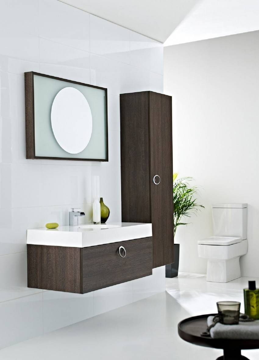 Cream Wall Paint Mirror Without Frame Black Small Wooden Vanity in Wall Mirrors Without Frame (Image 9 of 15)