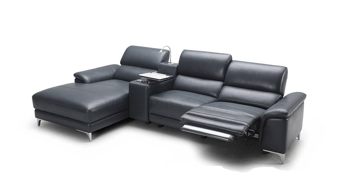 Create A Style Statement With Modern Furniture - La Furniture Blog for Black Modern Couches (Image 8 of 15)