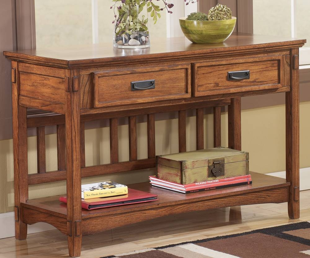 Cross Island T719-4 Sofa Table - Tenpenny Furniture pertaining to Country Sofa Tables (Image 10 of 15)