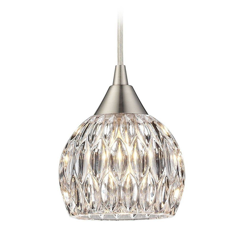 Crystal Mini Pendant Lights | Crystal Hanging Lights regarding Crystal Pendant Lights (Image 3 of 15)