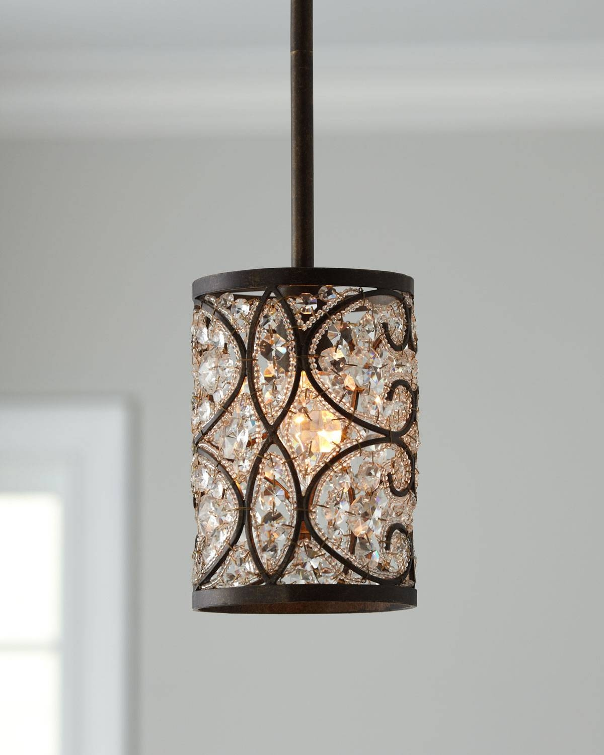 Crystal Pendant Lights - Hbwonong pertaining to Crystal Pendant Lights (Image 5 of 15)