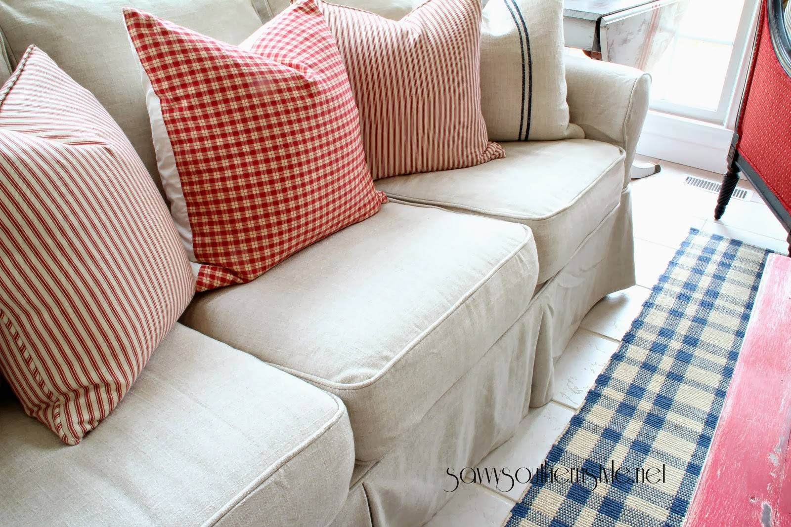 Custom Slipcovers And Couch Cover For Any Sofa Online with regard to Slipcover Style Sofas (Image 6 of 15)