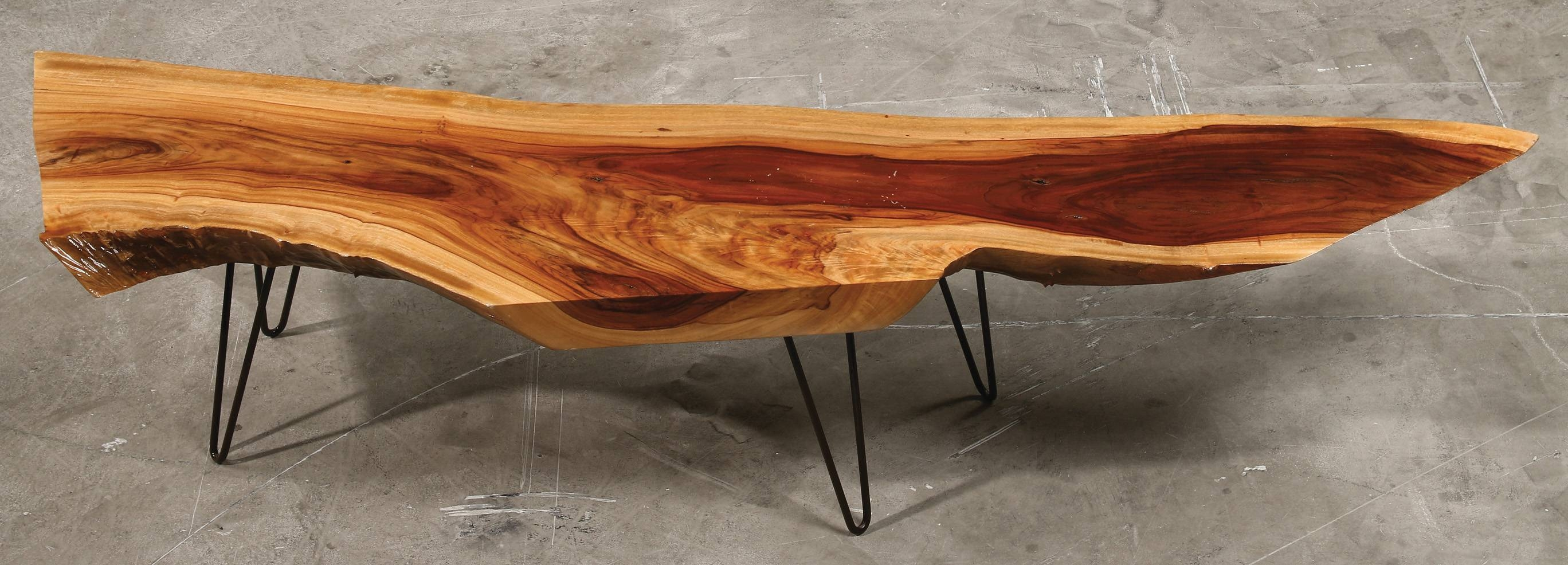 Customized Coffee And Console Tableswood Fusion inside Natural Wood Coffee Tables (Image 5 of 15)