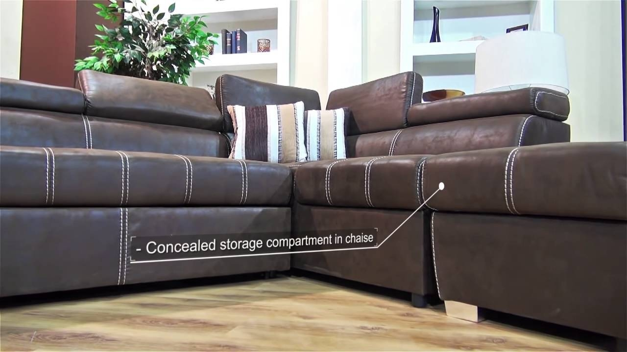 Dallas Corner Sleeper Couch - Youtube pertaining to Corner Sleeper Sofas (Image 9 of 15)